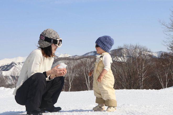 Mẹ Kyoka và bé Yurri