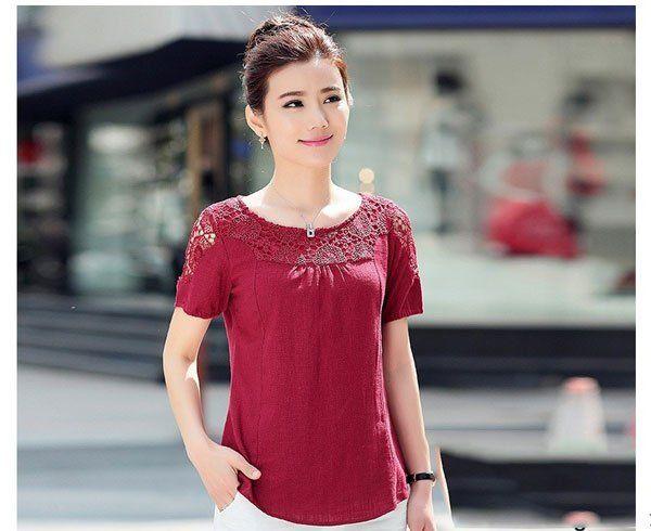 Thời trang trung niên: Mẫu áo váy sang trọng cho chị em U40